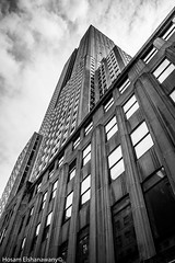 Empire State Building (hosam alshanawany) Tags: bw buildings blackandwhite blackwhite empirestatebuilding newyork newyorkcity manhattan lightroom life lr nikon nikkor nyc new d5500