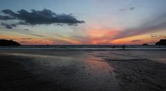 Polzeath Dusk (Richard D Porter) Tags: canon 550d tripod dusk seascape sea uk england beach water sand tokina1116f28