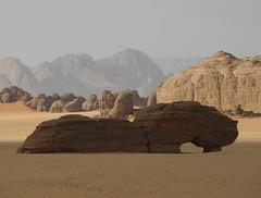 Chad Tibesti NE (ursulazrich) Tags: chad tschad ciad tchad sahara desert tibesti bogen arc arch rocks sand mountains