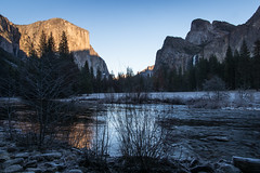 Merced River and Yosemite Valley (HewesViews) Tags: yosemitenationalpark yosemitevalley yosemite mercedriver winter nature landscape sonya77ii tamron16300