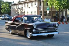 21st Annual La Verne Cool Cruise (USautos98) Tags: 1955 ford hotrod streetrod custom