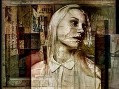 broken window (skizo39) Tags: collage layers art digitalprocessing digitalart digitalpainting photomanipulation colors colorful graphical design creation artistic woman mujer