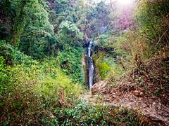 Waterfall in the Himalayas, Nepal (CamelKW) Tags: abc annapurnabasecamptrek annapurnaregiontrek annapurnasanctuary fishtail kathmandu mbc machapuchare machapucharebasecamp nepal pokhara trekking
