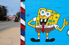 Spongebob (Cragin Spring) Tags: barber brewcity brewcitybarbering midwest mural bright colors spongebob milwaukee milwaukeewi milwaukeewisconsin wisconsin wi urban city unitedstates usa unitedstatesofamerica