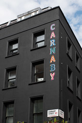 Guess Where (Number Johnny 5) Tags: w1 tamron 2017 2470mm london shopping street building perspective black d750 carnaby nikon holiday april