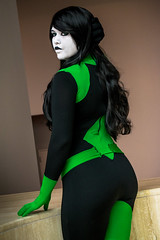 _DSC1309 (In Costume Media) Tags: wizardworld shego kim possible sexy evil girl hot villein white green black cosplay costume photography photoshoot portland cartoon
