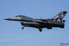 Belgium Air Force --- General Dynamics F-16AM Fighting Falcon --- FA-70 (Drinu C) Tags: adrianciliaphotography sony dsc rx10iii rx10 mk3 lwr ehlw plane aircraft aviation leeuwarden frisianflag military belgiumairforce generaldynamics f16 special f16am fighting falcon fa70