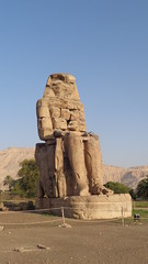 Colossi of Memnon (Rckr88) Tags: colossi memnon colossiofmemnon luxor egypt africa african travel travelling ancient ancientegypt relic relics statue statues pharoah pharoahs