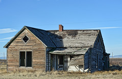 Diamonds (RootsRunDeep) Tags: abandoned home house decay wooden old history bosler wyoming oncewashome