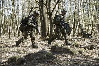 Gefechtsübung Deutsch-Französische Brigade