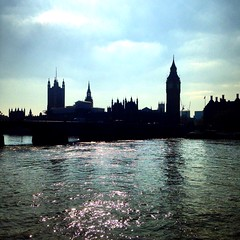 Palace of Westminster (The Crewe Chronicler) Tags: silhouette river riverthames thames parliament housesofparliament bigben london palaceofwestminster westminster