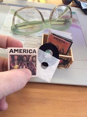 Tiny records! (My Fashion Royalty Dolls) Tags: americatheband 16scale albums diy cratedigger records vinyl miniatures