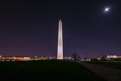 Washington Monument at Night (jed52400) Tags: washingtonmonument longexposure tokina1120 nightphotography nighttime washingtondc flags