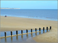 Sea and Sand.. (** Janets Photos **) Tags: uk bridlington eastyorkshire seaside beach bays