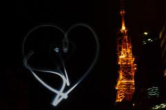sp (isabellipontes) Tags: sp são paulo torre luz light night urban urbano cidade city country painting heart coração ao ar livre tower br brasil brazil desenho