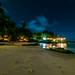 Sunset Beach by night