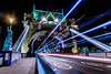 Tower Bridge (johnlawrence1971) Tags: london longexposure towerbridge traffictrail thames night nikon d750 sigma sigmaart