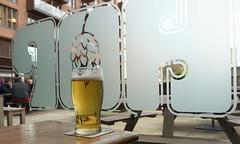 Ossett Brewery Yorkshire Blonde - Leeds, UK (Neil Pulling) Tags: ossettbrewery yorkshireblonde beer bier pub leeds thehopleeds pint yorkshire gbg2017
