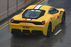 Ferrari, 458 Speciale, Central, Hong Kong (Daryl Chapman Photography) Tags: rd550 ferrari 458 speciale italian central pan panning wet rain 70th fochk car cars auto autos automobile canon eos 1d mkiv is ii 70200l f28 road engine power nice wheels rims hongkong china sar drive drivers driving fast grip photoshop cs6 windows darylchapman automotive photography hk hkg bhp horsepower brakes gas fuel petrol topgear headlights worldcars daryl chapman darylchapmanphotography