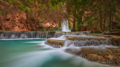 Mooney Falls (BX's Photos) Tags: water falls waterfalls havasu havasupai trees arizona rock rocks river coloradoriver havasucreek turquoise springtime havasucanyon redrockcanyon
