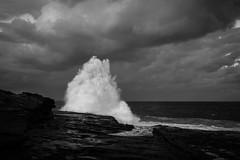 wave, Sydney, autumn 2017  #9925 (lynnb's snaps) Tags: 6d ef40mmf28stm clouds digital ocean waves 2017 sydney coast nature landscape oceanscape canon
