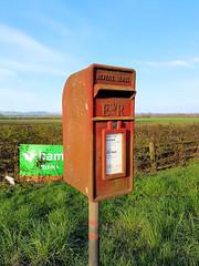 Cranwell Gate Letterbox (R~P~M) Tags: letterbox postbox lampbox hs2 cranwellgate a41 waddesdon bucks buckinghamshire england uk unitedkingdom greatbritain