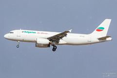 LZ-LAA Bulgarian Air Charter A320-200, EFTP, Finland (Sebastian Viinikainen.) Tags: lzlaa bulgarian air charter finland eftp a320200 airbus snowfall