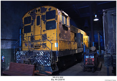 NN S12 802 (Robert W. Thomson) Tags: nn nevadanorthernbaldwin blw diesel locomotive fouraxle switcher endcabswitcher switchengine railroad railway ely nevada