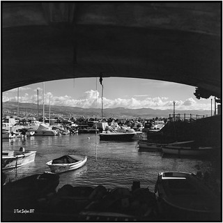Ika with view to Fiume_Rolleiflex 3.5B