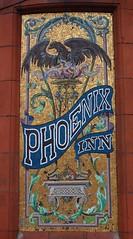 English Pub - The Phoenix Inn, St Helens (big_jeff_leo) Tags: sthelens england english streetart sign painted art pub bar tavern