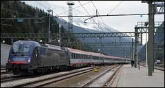 ÖBB 1216 019 [Achensee] + EuroCity | Brennero (lry.97) Tags: siemens taurus oebb öbb br baureihe 1216 190 019 ec eurocity brenner brennero achensee