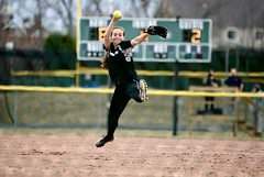 Hit this! (stephencharlesjames) Tags: womens sports college sport softball ncaa action pitcher girls middlebury vermont
