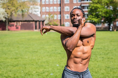 IMG_5984 (Zefrog) Tags: zefrog london uk muscle man portraiture sixpack fit fitness stretching stretch blackman iyo personaltrainer bodybuilder