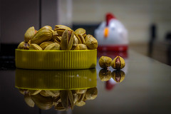 Iranian pistachios (Raji PV) Tags: nuts raji philipose rajipv iranian pistachios shell sony