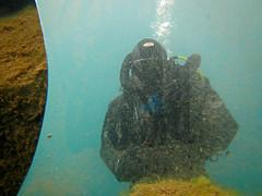 Mirror (CZDiver) Tags: scubagear scubadiving divinggear doublehosescubaregulator aqualungmistral scubadiver drysuit drysuitdiving blackrubberdrysuit gatesproam1050drysuit