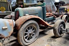 """fiat 501 """"carioca"""" (riccardo nassisi) Tags: collezione righini rust rusty scrapyard collection camion truck ruggine epave alfa romeo 950 900 fiat old car auto"""
