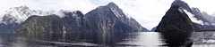 DSC01700 - Milford Sound NZ (Looking forward to going on this cruise again in a couple of weeks. (jangurney) Tags: new zealand landscape milford sound panarama southisland september