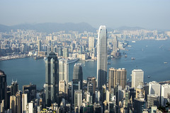 hong kong city (Greg M Rohan) Tags: concretejungle urbanjungle skyscrapers skyscraper buildings cityscape hongkongcity lugardroad photography hongkong 2017 d7200 skyline city building tower sky