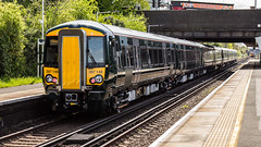 387148 (JOHN BRACE) Tags: 2016 bombardier derby built class 387 electrostar emu 387148 seen horley station test unbranded gwr livery
