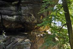 Deutschland Sächsische Schweiz DSC_0631A (reinhard_srb) Tags: deutschland sächsische schweiz nationalpark wanderung freizeit urlaub sehenswürdigkeit felsen höhle schlucht berg schneiderloch weg aufstieg felsentor durchstieg kamin klettern kirnitzsch tal wildenstein geländer kuhstall