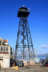 Alcatraz Watch Tower - San Francisco 2016 (anorakin) Tags: alcatraz watchtower sanfrancisco 2016