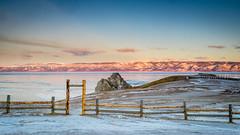 Baikal Lake Olchon Chuschir (seledam) Tags: olkhon olchon baikal lake island ice winter frozen siberia sunset sunrise fuji xt1 fujifilm 1024mm f40 irkutsk russia haida filter