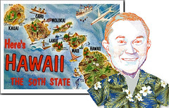 Aloha, Jeff Sessions (Mike Licht, NotionsCapital.com) Tags: sessions jeffsessions hawaii postcards hawaiianshirsts gop republicans 50thstate