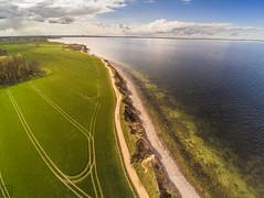 Brodtener Steilufer von oben (LB-fotos) Tags: xiaomi yi quadcopter air balticsea beach coast küste landscape ocean ostsee seascape strand wasser water