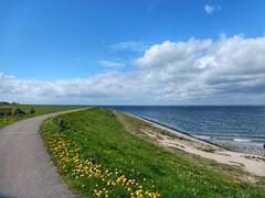 Oosterschelde (sander_sloots) Tags: dijk wemeldinge zeeland dike sea clouds wolken