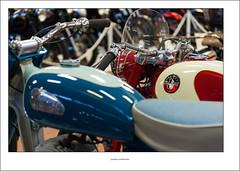 A Norman motorcycle (G. Postlethwaite esq.) Tags: dof greeves nationalmotorcyclemuseum normanmotorcycles villiersengine beyondbokeh bokeh depthoffield motorcyle photoborder selectivefocus canonefs60mmmacro