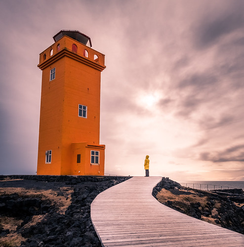 Svortuloft lighthouse - Iceland - Travel photography