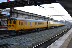 Network Rail DBSO 9708 (Will Swain) Tags: 7th april 2017 train trains rail railway railways transport travel uk britain vehicle vehicles country england english crewe cheshire north west south county network dbso 9708 driving brake standard open