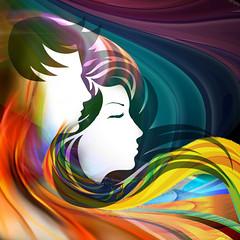 Couple in the light (jaci XIII) Tags: pessoa casal cores fantasia person couple fantasy colors