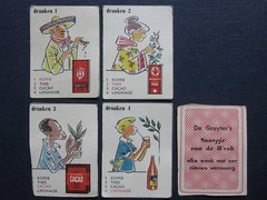 DE GRUYTER 1950s/1960s (streamer020nl) Tags: drank dranken drinks koffie thee cacao limonade lemonades tea coffee cocoa tee kaffee café gruyter gruyters kwartet kwartetspel kaartjes snoepje week cards 1950 1960 products produkten eigenmerk kruidenierswaren groceries